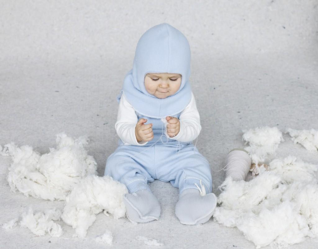 Baby uldsokker image
