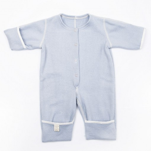 Babysuit without hood blue