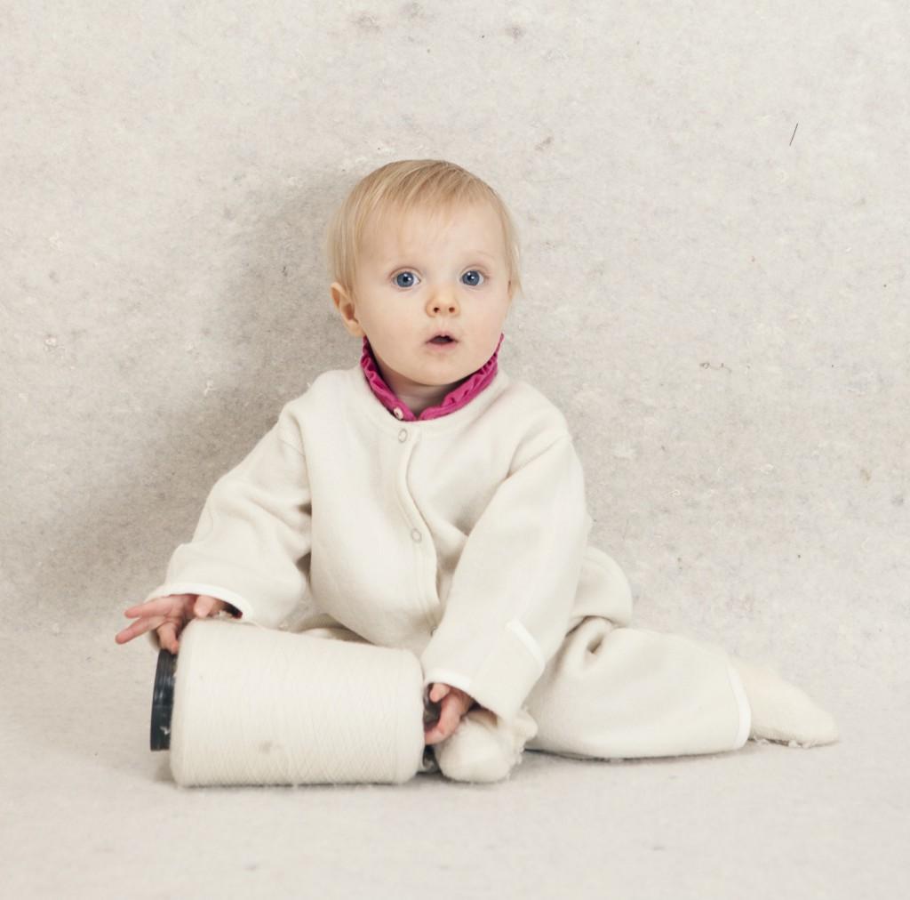 Babydragt uden hætte