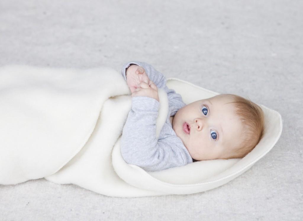 Babysvøb naturhvid