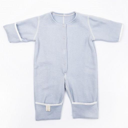 Babysuit without hood blue