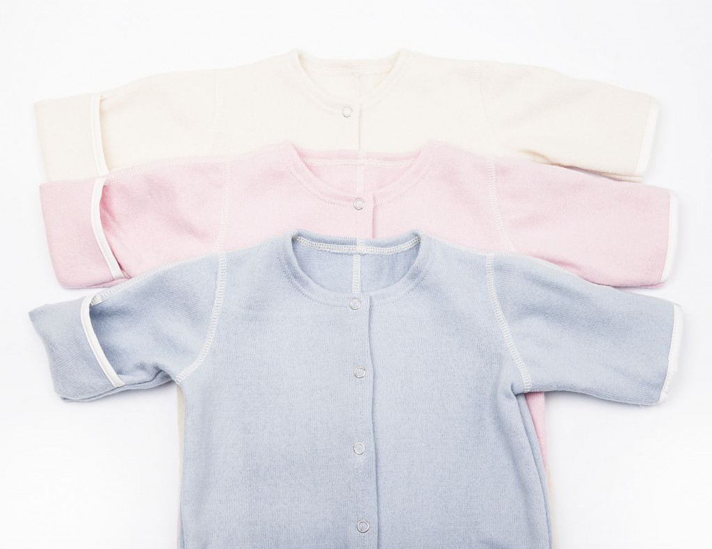 Babysuit without hood detail
