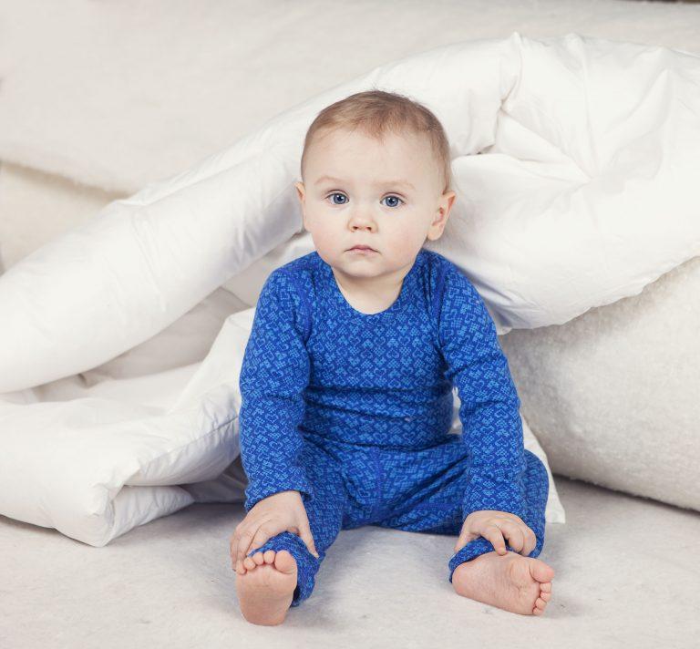 Wool bedding boy